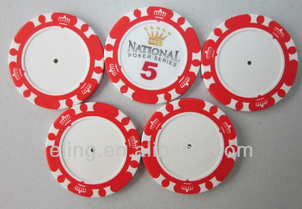 14 Gram Clay Poker Chips with Custom Designs