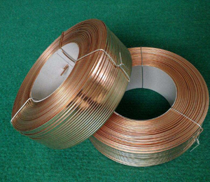 2.5kg coil copper coated electrical wire/wire stitching/flat wire