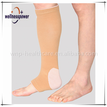 Elastic shin guard long calf brace support for ankle