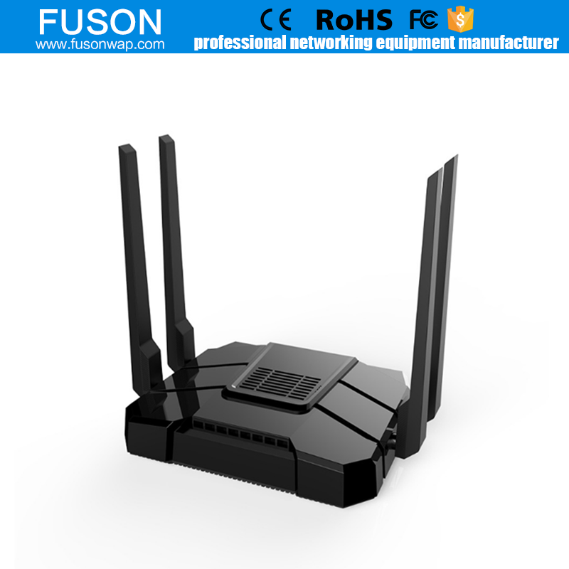 High power 2.4GHz /5GHz Dual Band WiFi 1200Mbps Wireless Router