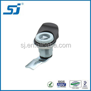 Industrial security cylinder door lock for cabniets