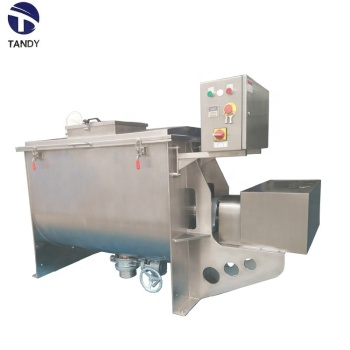 Horizontal  additive  ribbon mixer / food  blender  machine