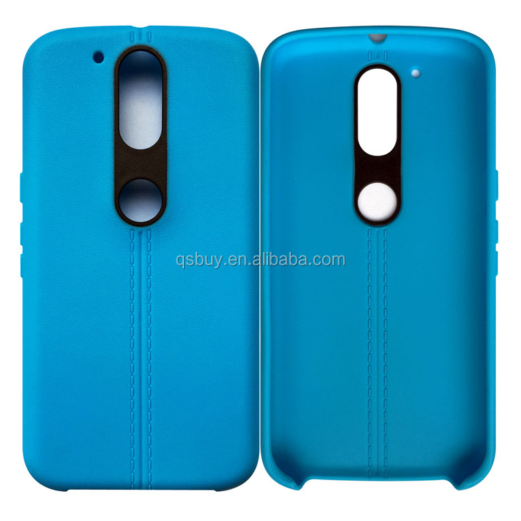 Factory priced colorful soft tpu phone cover case for Moto G4