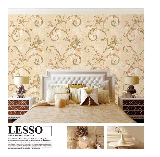 2016 wandverkleidung vinyl tapete pvc tapete papier f r. Black Bedroom Furniture Sets. Home Design Ideas