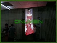Onumen New Product Outdoor rental display surfboard display stand led curtain with slim body