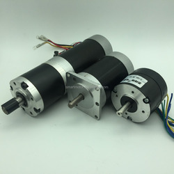 52PLG43.57HBL04 planetary geared brushless DC motor planetary gearbox combination 24v or 48v, Rated 100rpm 19Nm 200w