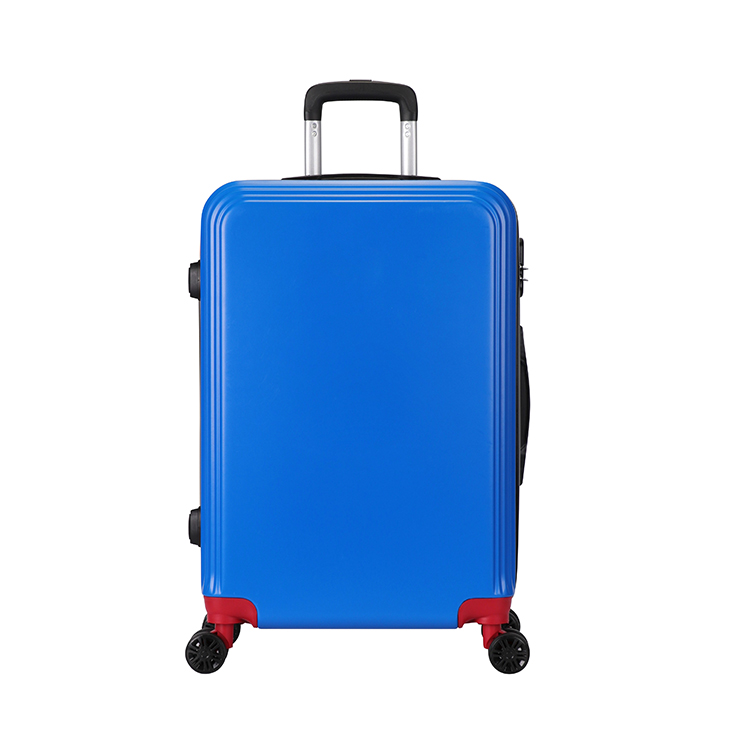 2019 promotional gift <strong>abs</strong> 20inch cabin size traveling box luggage roller bag