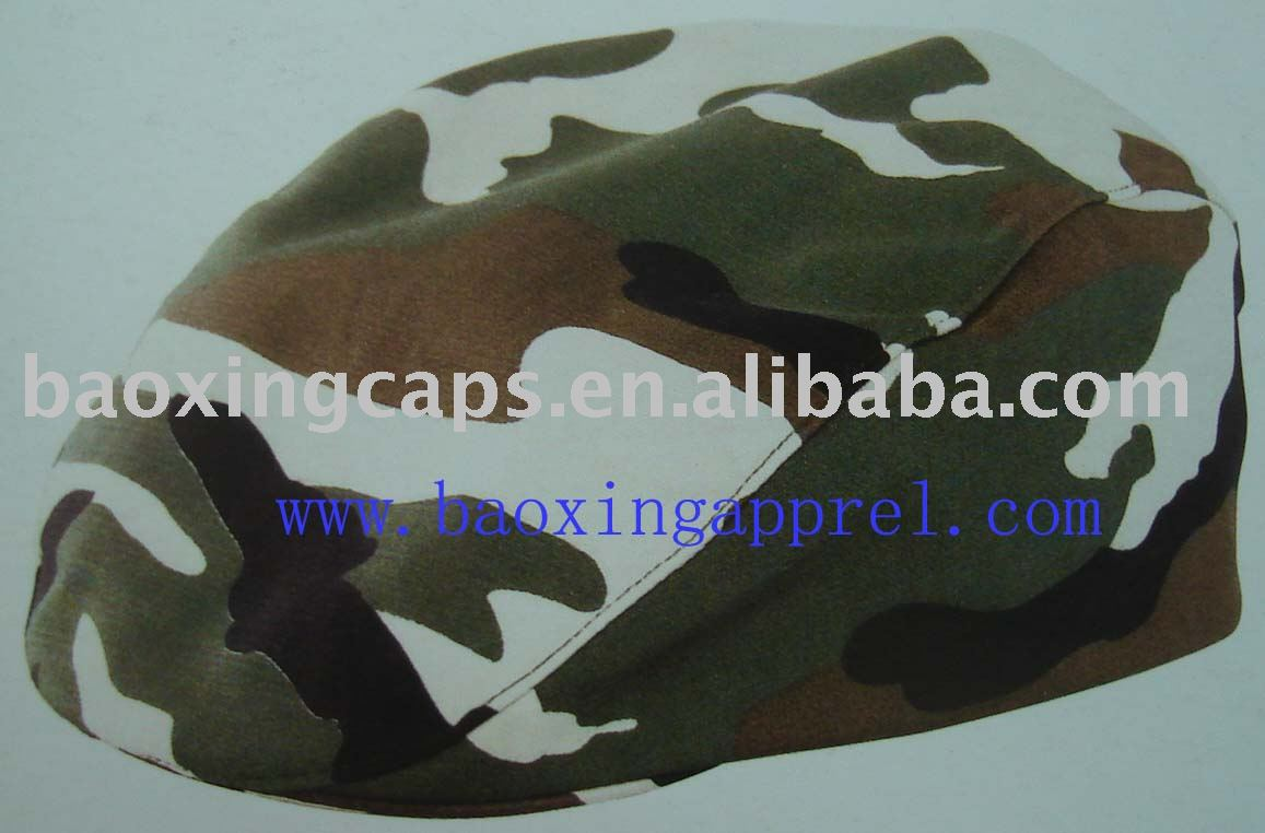 camouflage Newsboy Flat Cap Gatsby Caps ivy Irish Cabbie Hats Driver Hunting Hat