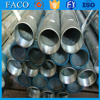 trade assurance supplier 150*150mm galvanized steel pipe standard length of galvanized tube