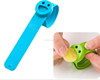 2015 Hot selling smile face baby anti silicone mosquito repellent bracelet