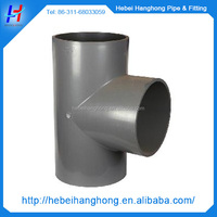 made in China Plastic injection Round pipe tee joints