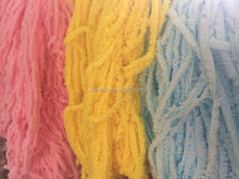 1/1.7nm 100%micro soft polyester knittied yarn / feather crochet yarn