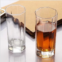 sum953 high ball glass shaped glass cups drinking glassware for juice high quality glass cups with customized logos