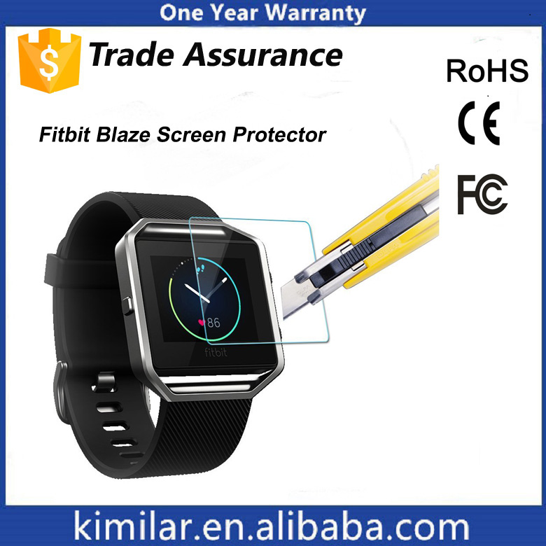 Factory Customized Manufacturing Screen Protector for Fitbit Blaze. Trade Assurance!!!