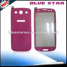 cell phone colorful screen protector for Samsung galaxy s3 i9300
