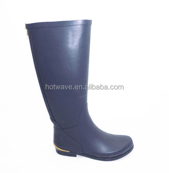 2014 new style lady's fashion rainboots/rubber boots,ladies rubber rain boots