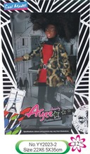 New Style African Black Barbie Doll With OEM Design