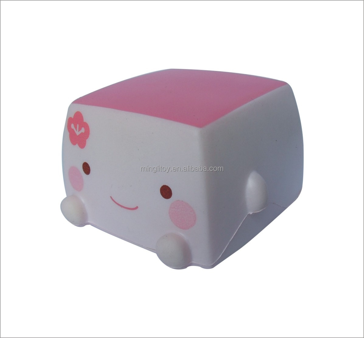 cubic soft toy/anti stress toy lovely