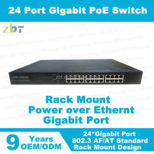 24 ports PoE 1000Mbps network switch