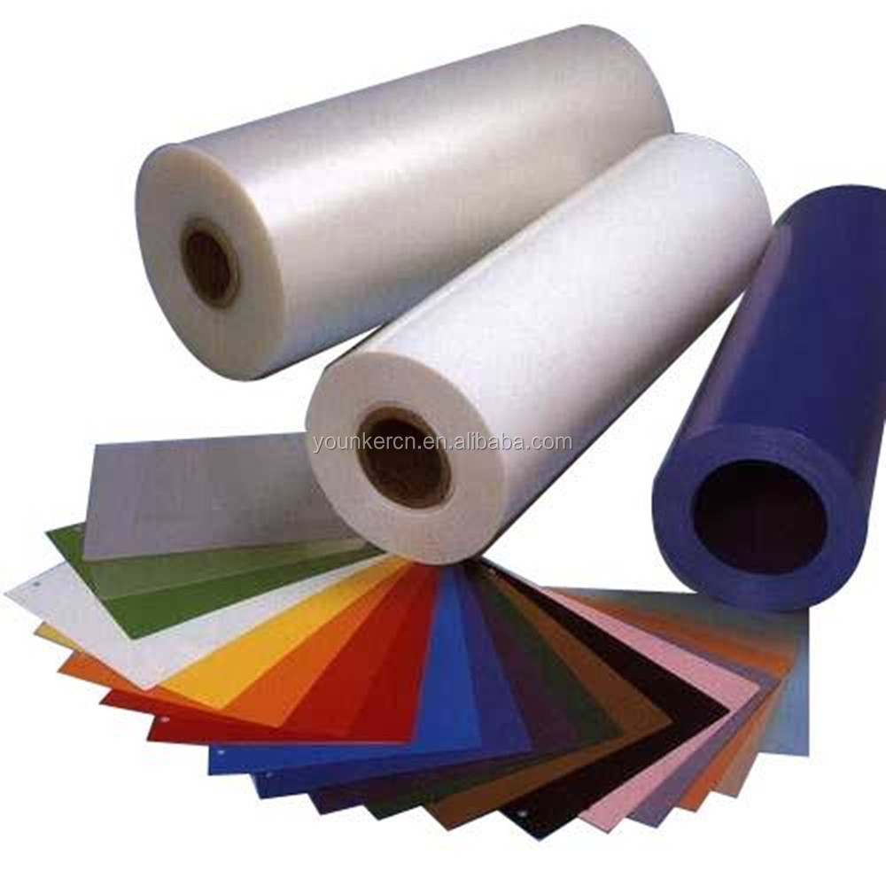 Transparent Rigid Pvc Films , Plastic Clear Film Roll For Thermoform