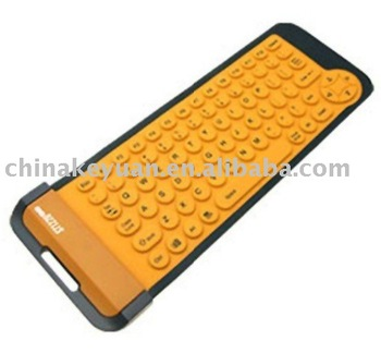 Silicone flexible keyboard