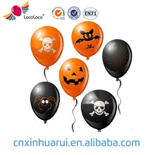 Eco-friendly Material standard Customized 10 inch latex halloween balloons