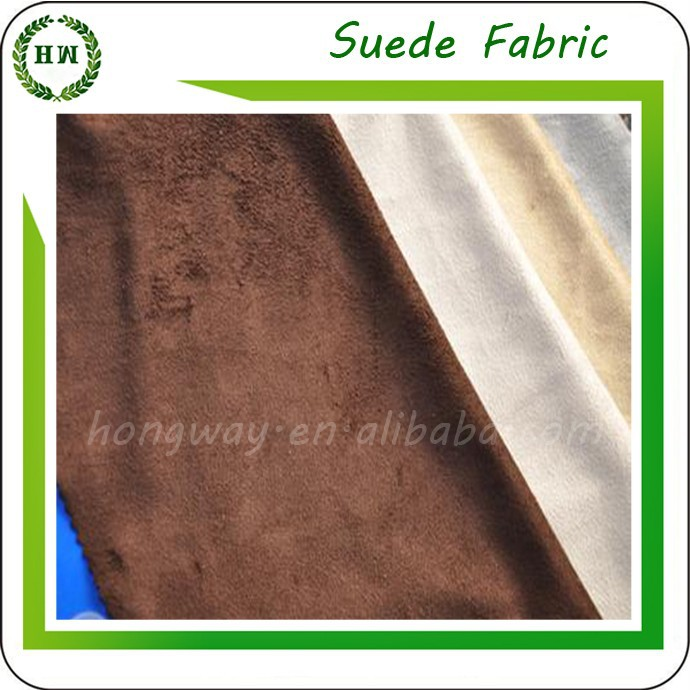Hongway MICROFIBER Suede FABRIC/TEXTILES For Sofa