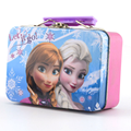 Tin Lunch Boxes With Hinged Lid for Grils