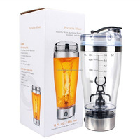 Dry battery tornado Shaker Bottle and Vortex hand Mixer, Electric Portable Mixer Bottle