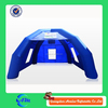 Blue inflatable emergency tent used tents for sale