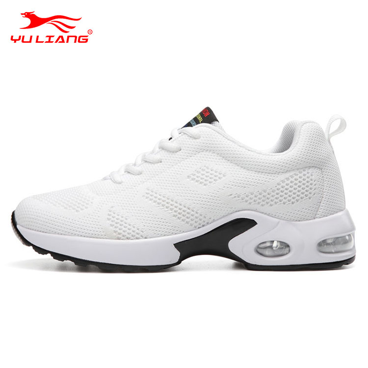 Promotion Lightweight Flywoven Ladies Sports Shoes