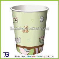 Paper cups manufacturer shenzhen tianbao in China