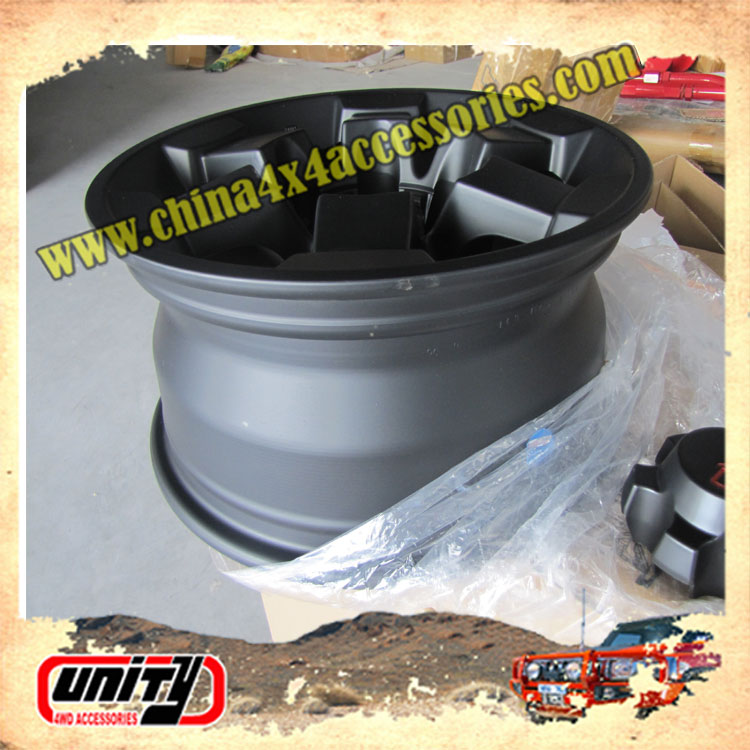 NEW High Quality Wholesale 4x4 Steel/Aluminum Alloy Car Wheel Rim 16 inch