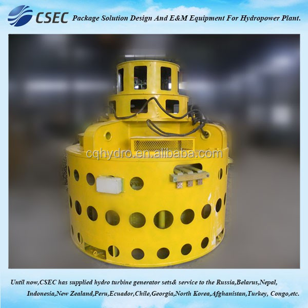Small Water Turbine Generator/ Micro Water Turbine Generator For Hydro Power Plant EPC Project