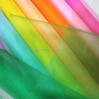 Various Color Cheap Organza Fabric Roll