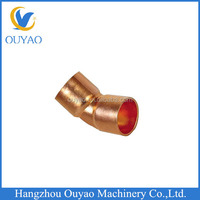 Copper fitting 1-3/8 45 degree long radius elbow, Copper Tube Fitting 45 Degree Elbow