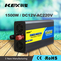 Home solar systems inverter China dc ac inverter 12V 1500 watt power inverter Over thermal protection with CE RoHs KEX-31500