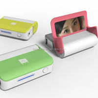 Fashionable design for the young style , feature with a mirror ,holder for smartphone LED flashlight power bank