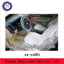 disposable plastic car seat cover/ steering wheel cover