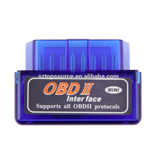 Universal Super Mini ELM327 Bluetooth OBD2 V2.1 Car Diagnostic Interface Tool, Support OBDII-ISO 9141-2/ ISO 14230-4(KWP2000)