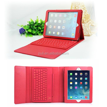 Wholesale And Hot Sale Leather Case With Wireless Keyboard Leather Case For iPad 2 3 4