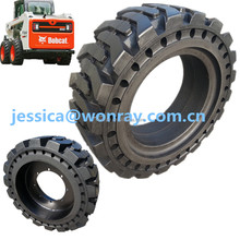 mini skid steer loader can use solid skidder tire 12x16.5