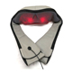 Hands free electric neck shoulder massager with heat for home office car