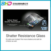 High quality New design 2.5D Flexible Tempered Glass Screen Protector for different cell phones