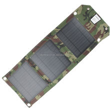 Portable Mono 7W solar panel charger USB port