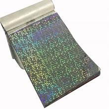 Multiple Extrusion Metalized Holographic Film For Lamination