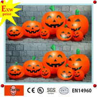 factory direct giant and cheap halloween chinese inflatable toy decoration inflatable pumpkin for sale