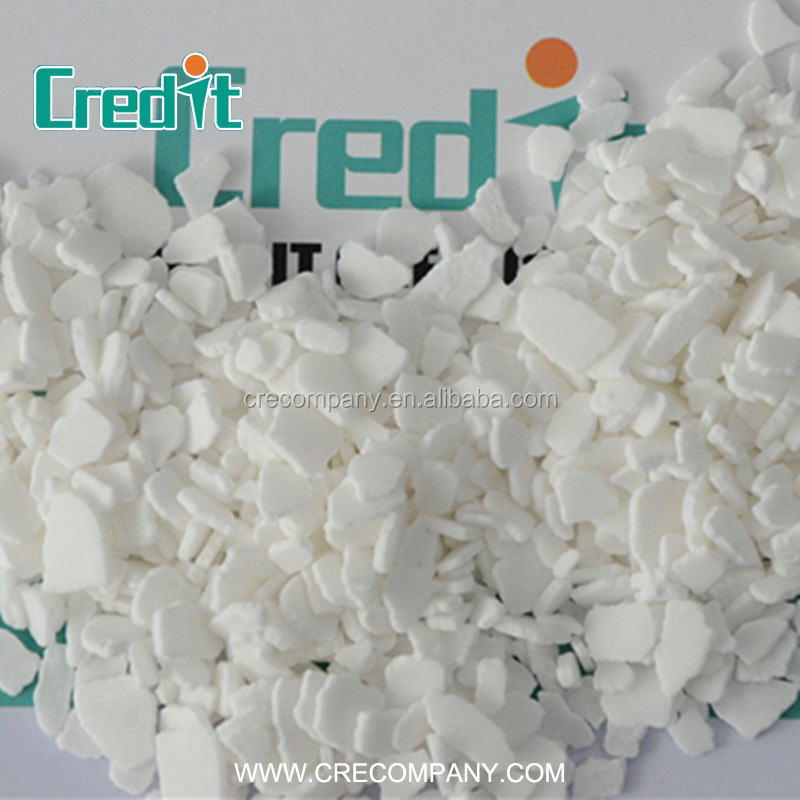The Most Popular Food Grade Dihydrate 77% Calcium Chloride Flakes