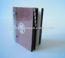 factory make spiral divider note book
