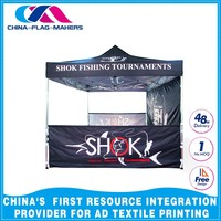 cheap custom trade event display fold 3x4.5m ez up canopy tent
